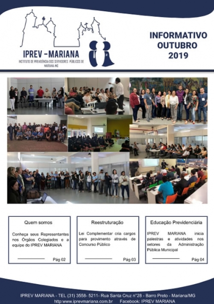 Informativo Iprev Outubro 2019